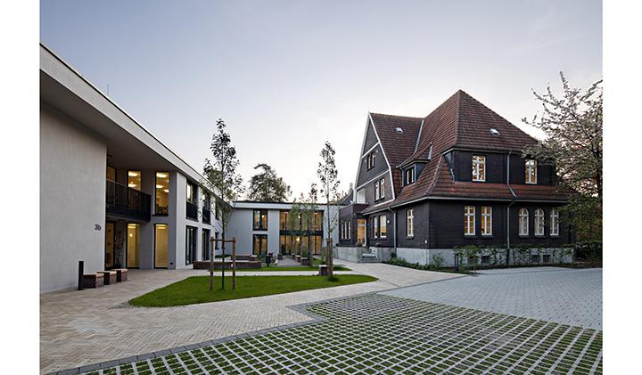 apartmenthaus f r menschen mit behinderungen in herne zeppelinstra e. Black Bedroom Furniture Sets. Home Design Ideas